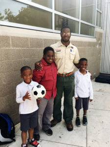 Young Boys involved in Cub Scouts at Atlanta Mission