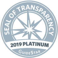 2019 Platinum Guidestar Seal of Transparency