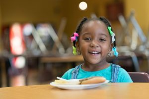 Little girl at Atlanta Mission - the impact of homelessness on education