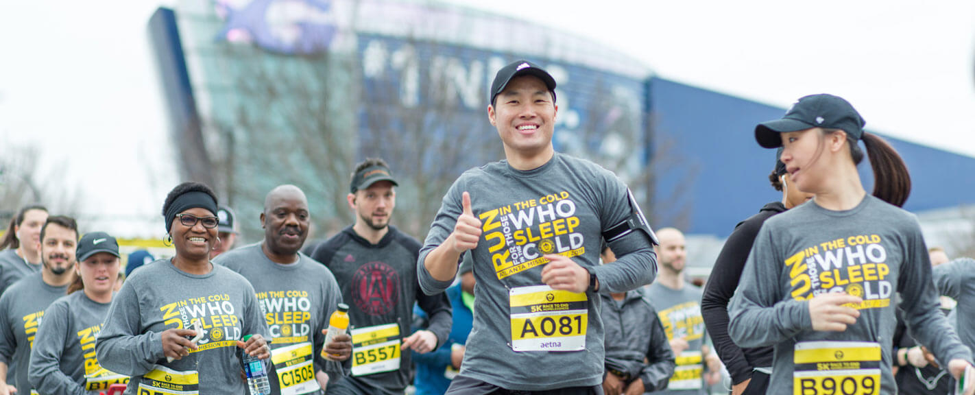 Atlanta Mission 5K Race to End Homelessness, presented by Aetna