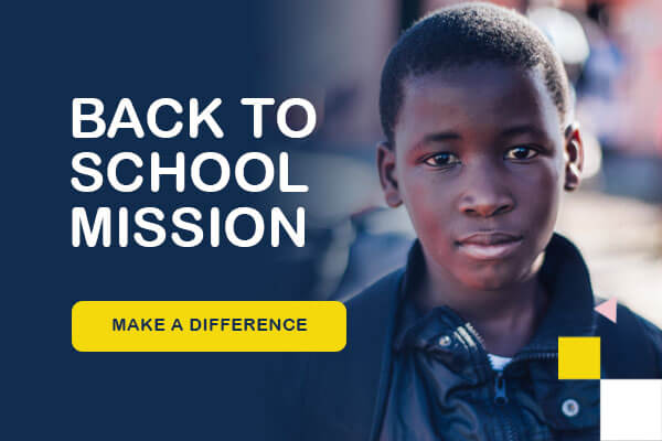 Back to school mission